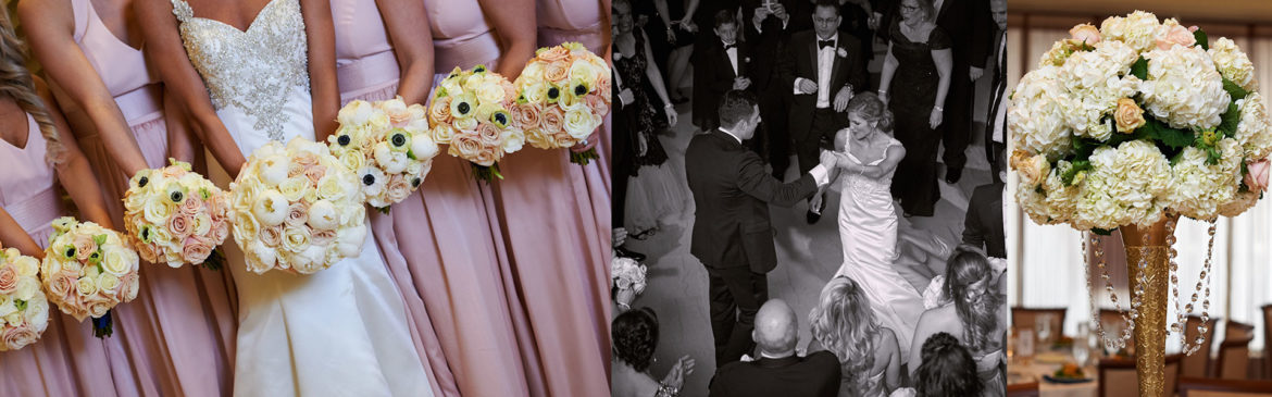 Flower Girls, Bride and Groom at an NYC wedding