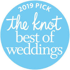 The Knot Best of Weddings 2019 logo