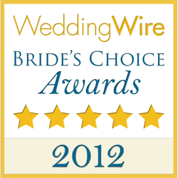 2012 Wedding Wire Bride's Choice Logo