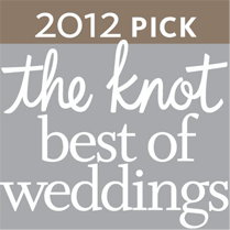 2012 The Knot Best of Weddings Logo