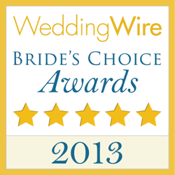 2013 Wedding Wire Bride's Choice Logo