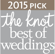 2015 The Knot Best of Weddings Logo